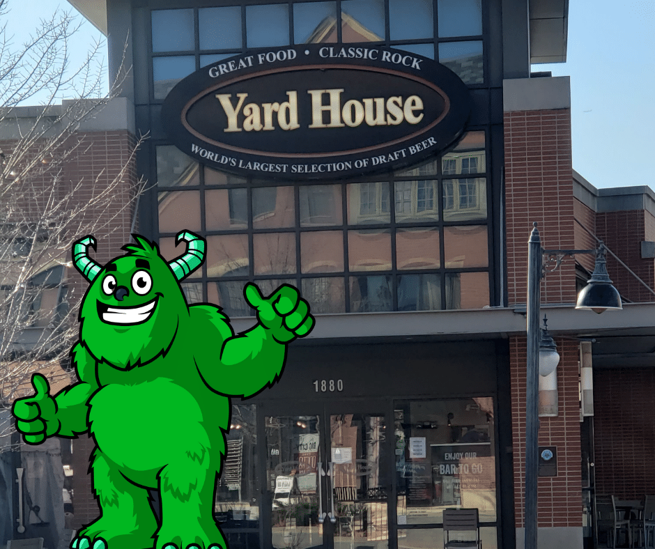 The Yard house in Glenview