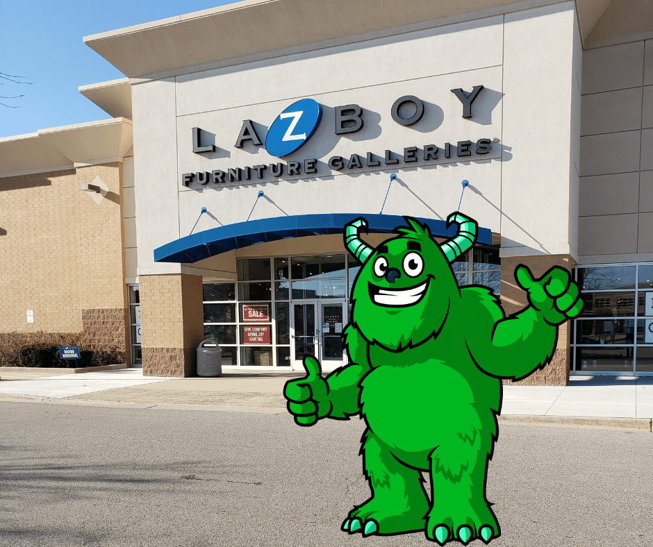 Lazboy by home depot and costco in glenview